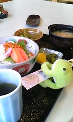 お昼ご飯〜