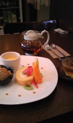 勝川カフェ monサンにて